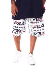 Fila - Remy All Over Print Fleece Shorts (B&T)-2633550
