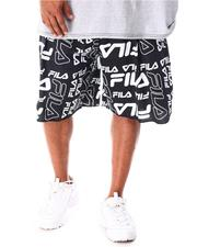 Fila - Remy All Over Print Fleece Shorts (B&T)-2633599