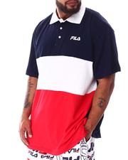 Fila - Zavory Colorblock Polo (B&T)-2633610