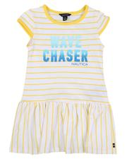 Dresses - Striped Dress W/ Ombre Graphic (7-16)-2634030