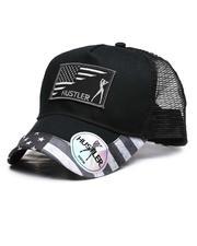 Dad Hats - Hustler American Flag Snapback Hat-2635399