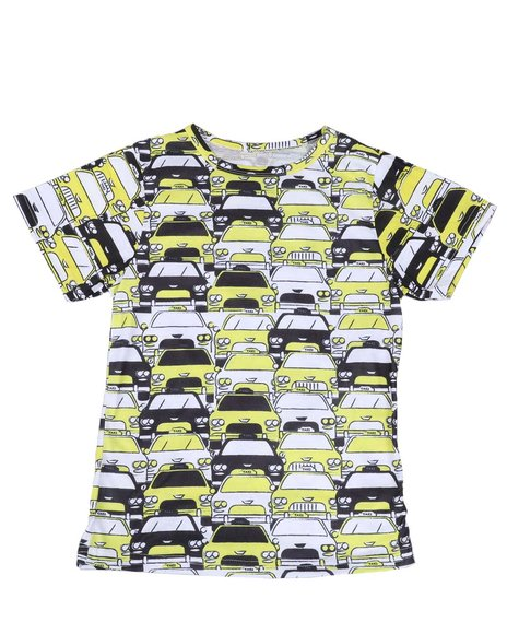 Arcade Styles - Taxi Sublimated Tee (8-20)