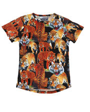 T-Shirts - Tiger Sublimated Tee (8-18)-2634077