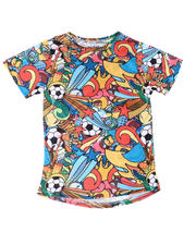 T-Shirts - Soccer Sublimated Tee (8-20)-2634082