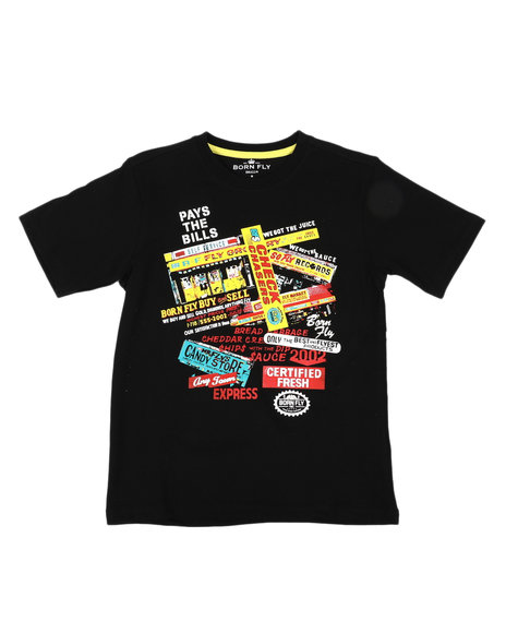 Born Fly - Fly Business Graphic Tee (8-20)