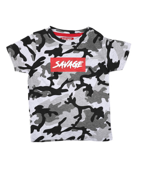 Arcade Styles - Savage Camo Print T-Shirt (2T-4T)