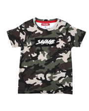 Sizes 2T-4T - Toddler - Savage Camo Print T-Shirt (2T-4T)-2634228