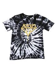 T-Shirts - Diamond Drip Tie Dye T-Shirt (8-20)-2634243