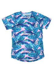 T-Shirts - Leaves Sublimated Tee (8-20)-2635282