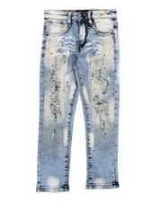 Bottoms - Paint Splatter Jeans (2-7)-2635239