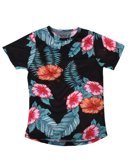 Arcade Styles - Floral Sublimated Tee (8-18)