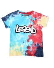 Tops - Verbiage Graffiti Chenille Applique T-Shirt (8-18)-2635385