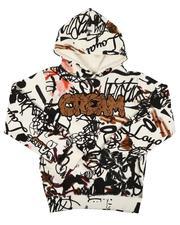 Hoodies - Cream All Over Print Hoodie (8-20)-2636224
