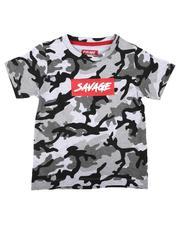 Tops - Savage Camo Print T-Shirt (8-20)-2636433
