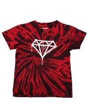 Arcade Styles - Diamond Drip Tie Dye T-Shirt (8-20)-2636448