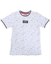 Arcade Styles - Vibes Box Logo Paint Splatter T-Shirt (8-20)-2636461