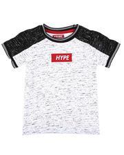 T-Shirts - Hype Streak Print Color Block T-Shirt (8-20)-2636494