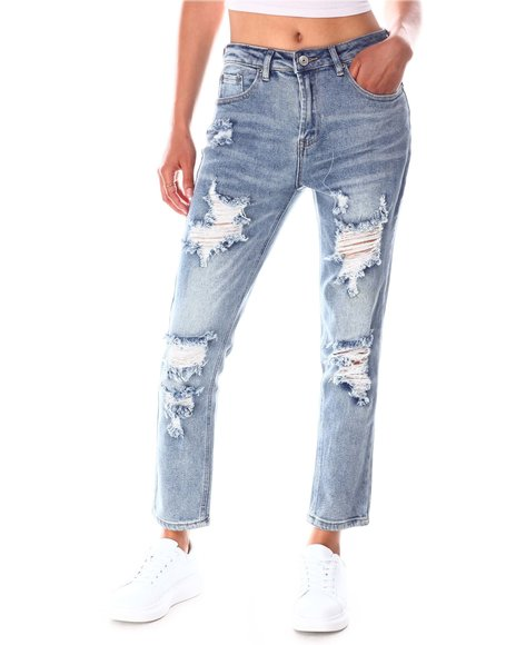 Fashion Lab - Distressed Skinny Jeans