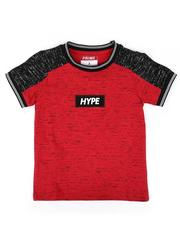 T-Shirts - Hype Streak Print Color Block T-Shirt (4-7)-2636499