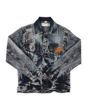 Outerwear - Rip & Repair Denim Jacket (8-20)-2636374