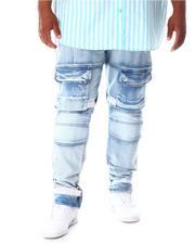 Jeans - Premium Denim Cargo Pants (B&T)-2631090