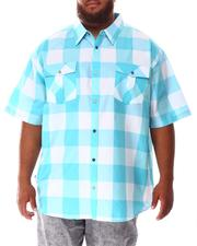 Button-downs - Yarn Dyed Plaid Woven Shirt (B&T)-2634576