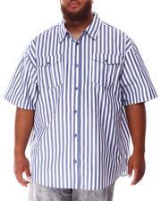 Short-Sleeve - Striped Woven Shirt (B&T)-2634612