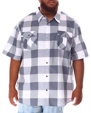 Button-downs - Yarn Dyed Plaid Woven Shirt (B&T)-2632100