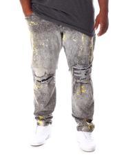 Jeans - Washed Rip & Tear Distressed Denim Jeans (B&T)-2634430