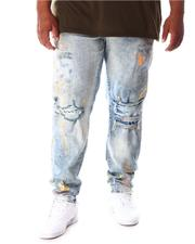 Jordan Craig - Washed Rip & Tear Distressed Denim Jeans (B&T)-2634398