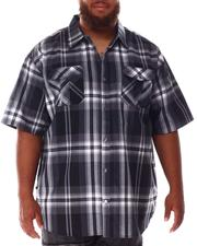 Button-downs - Yarn Dyed Plaid Woven Shirt (B&T)-2634534