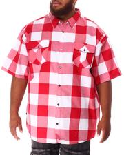 Button-downs - Yarn Dyed Plaid Woven Shirt (B&T)-2634561