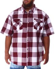Button-downs - Yarn Dyed Plaid Woven Shirt (B&T)-2634585