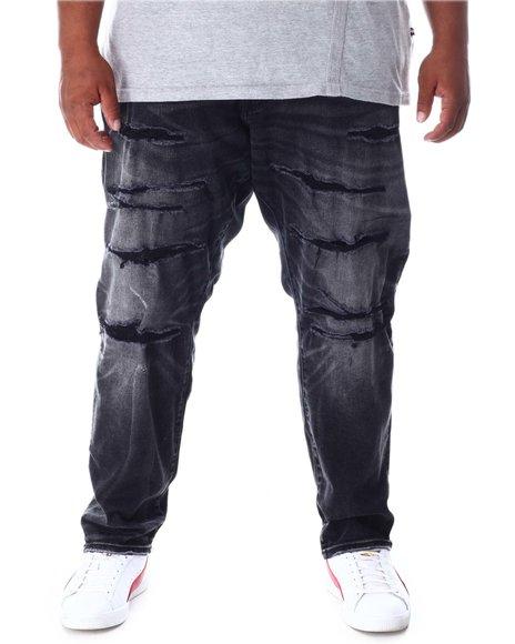 Jordan Craig - Ripped Knee Distressed Denim Jeans (B&T)