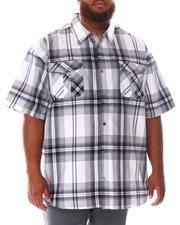 Button-downs - Yarn Dyed Plaid Woven Shirt (B&T)-2634544