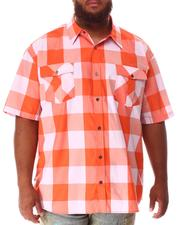 Button-downs - Yarn Dyed Plaid Woven Shirt (B&T)-2634600