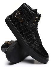 Footwear - Croc Embossed High Top Sneakers-2637532