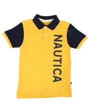Nautica - Color Block Logo Polo Shirt (4-7)-2613364
