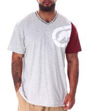 Ecko - Switch Hitter V-Neck T-Shirt (B&T)-2637084