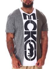 Ecko - Center Rep V-Neck T-Shirt (B&T)-2637153