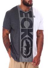 Ecko - Center Rep V-Neck T-Shirt (B&T)-2637158