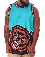 Mitchell & Ness - Grizzlies Big Face Swingman Jersey (B&T)-2638501