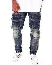 Jeans - Denim Premium Denim Cargo Pants (B&T)-2631102