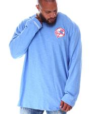 Mitchell & Ness - Yankees Slub Long Sleeve T-Shirt (B&T)-2638321