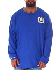 Mitchell & Ness - Giants Slub Knit Long Sleeve T-Shirt (B&T)-2638343
