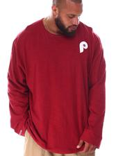 Mitchell & Ness - Phillies Slub Long Sleeve T-Shirt (B&T)-2638332