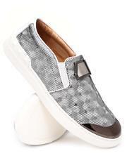 Footwear - Slip On Metallic Printed Sneakers-2637315