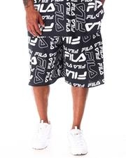 Fila - Remy All Over Print Fleece Shorts (B&T)-2638101