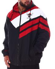 Mitchell & Ness - Bulls Asymmetrical Full Zip Jacket (B&T)-2638390