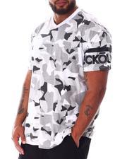 Ecko - Madison Ave V-Neck Sleeve Logo T-Shirt (B&T)-2637131
